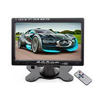 Монитор HDMI автомобильный 7 дюймовый с VGA и AV входом (Podofo K0106)