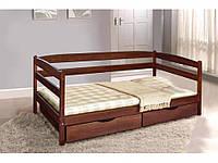 Кровать односпальная Ева с двумя ящиками