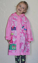 Дождевик для девочки Свинка Пеппа 17-808-2 размер М