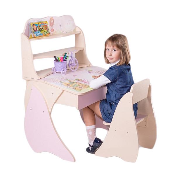 Детская парта + стул (наборы)