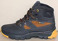 Детские зимние ботинки кожаные  ДБ - 26М