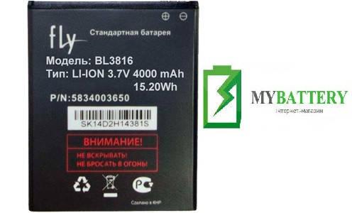 Оригинальный аккумулятор АКБ батарея Fly BL3816, IQ4504