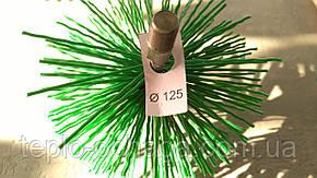 Ерш для чистки трубы дымохода, 120 мм пластик, фото 2