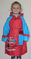 Дождевик дeтский для мальчика Тачки 17-801-5 размер ((размеры уточнять))