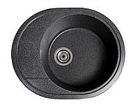 Кухонная мойка из иксусственного камня (гранитная) КОМФИ черная