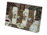 Набор кухонных полотенец Nilteks Coffee Time, 3444, фото 1