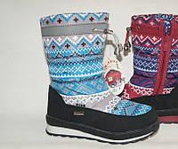 Зимняя подростковая обувь. Дутики оптом 9615E-9 (8пар, 31-36)