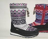 Зимняя подростковая обувь. Дутики оптом.9615E-3 (8пар, 31-36)