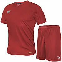 Комплект футбольной формы SWIFT VITTORIA COOLTECH Красная (Размер XL/50)