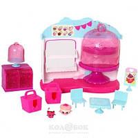Игровой набор Shopkins S4 - Королевское Капкейк-кафе (с аксессуарами, 2 шопкинса, 2 сумочки)