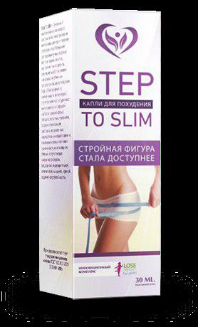 StepToSlim (СтепТуСлим) - капли для похудения. Цена производителя. Фирменный магазин.