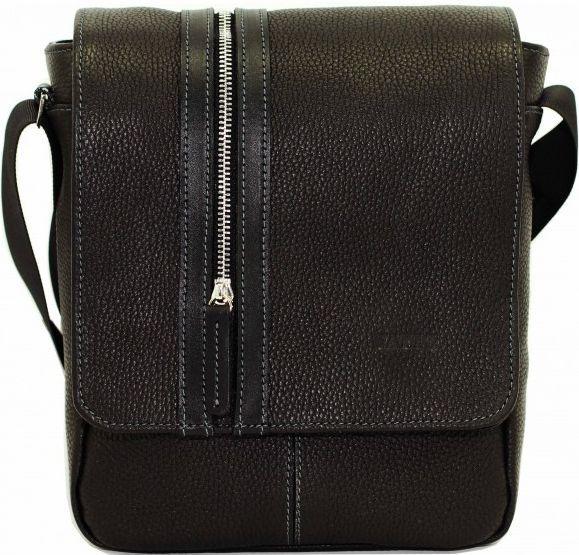 Чоловіча сумка зі шкіри VATTO MK28 F8KAZ1, чорний