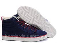 Мужские кроссовки Adidas Ransom Fur синие