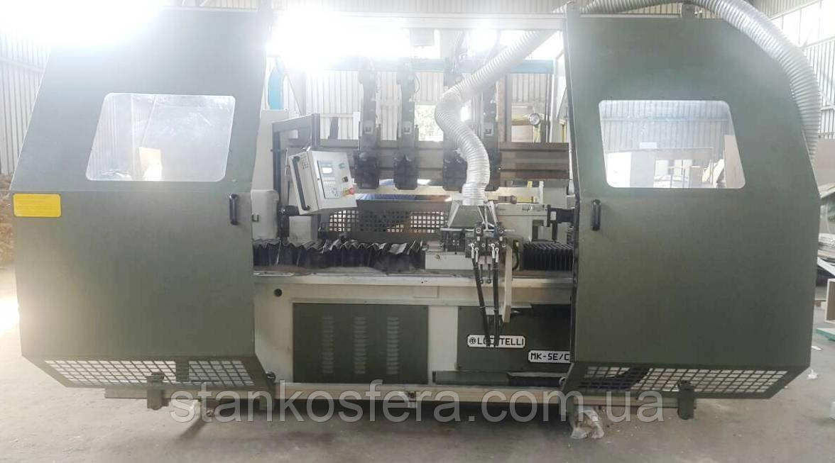 Автоматический токарный станок б/у Locatelli Multimatik SE-CC по дереву 09г.