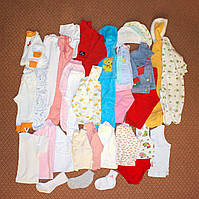 Пакет одежды на девочку от 1 мес. до 1,5 лет