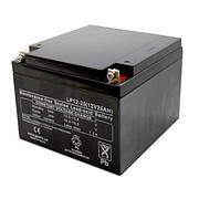 LogicPower LP12-26 Ah - 12В - 26 А/год - мультигелевый акумулятор