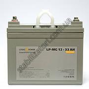 LogicPower LP-MG 12V 33AH - 12В - 33 А/год - мультигелевый акумулятор, AGM
