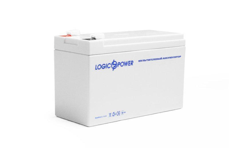 LogicPower LP-MG 12V 9AH - 12В - 9,0 А/ч  - мультигелевый аккумулятор для ИБП, УПС, UPS, ДБЖ, бесперебойника