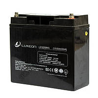 LUXEON LX12200MG - 12В - 20 А/ч  - мультигелевый аккумулятор, AGM