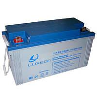 LUXEON LX12-200G - 12В - 200 А/ч  - гелевый аккумулятор для котла