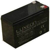 LUXEON LX1270E - 12В - 7 А/ч  - аккумулятор для ИБП, УПС, UPS, ДБЖ, бесперебойника