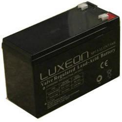 LUXEON LX1272 - 12В - 7,2 А/год - акумулятор для ДБЖ, УПС, UPS, ДБЖ, безперебійники, фото 2
