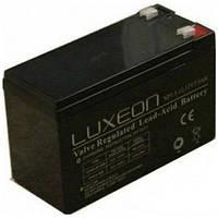 LUXEON LX1290 - 12В - 9 А/ч  - аккумулятор для ИБП, УПС, UPS, ДБЖ, бесперебойника