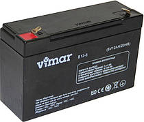 VIMAR B12-6 (12 Ач) - 6В - 12 А/ч  - мультигелевый аккумулятор, AGM