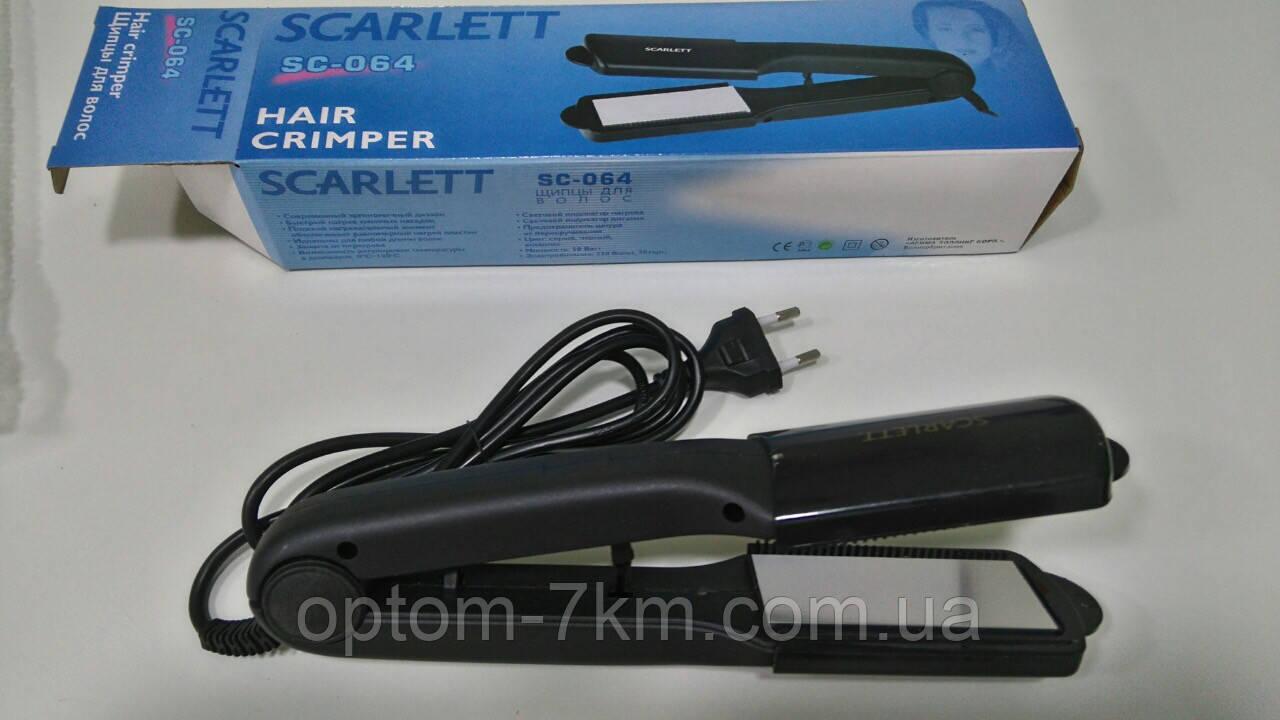 Утюжок Выпрямитель для волос Scarlett SC-064 H