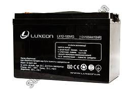 LUXEON LX12-100MG - 12В - 100 А/ч - мультигелевый акумулятор для котла