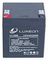 LUXEON LX1250E - 12В - 5 А/ч  - аккумулятор для ИБП, УПС, UPS, ДБЖ, бесперебойника