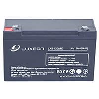 LUXEON LX6120MG - 6В - 12 А/ч  - мультигелевый аккумулятор, AGM