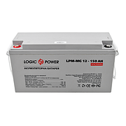 LogicPower LPM-MG 12V 150AH - 12В - 150 А/год - мультигелевый акумулятор, AGM