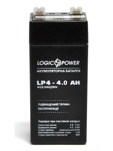 LogicPower LP 4-4 AH - 4В - 4 А/ч  - кислотный аккумулятор