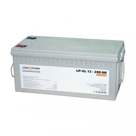 LogicPower LPM-GL 12V 200AH - 12В - 200 А/ч - гелевый аккумулятор