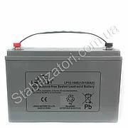 Leoch LP12-100E - 12В - 100 А/ч - мультигелевый акумулятор для котла