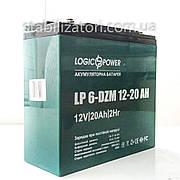 LogicPower LP 6-DZM-20 - 12В - 20А/год тяговий акумулятор - для електровелосипеда