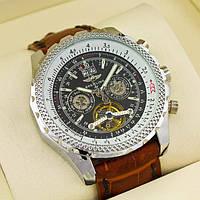 Отличные механичные мужские часы Breitling. Стильный дизайн. Хорошее качество. Доступная цена. Код: КГ2004