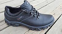 Мужские кожаные кроссовки  Ecco Tracking New