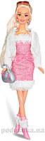 Набор Городской стиль блондинка в розовом платье Ася 35068