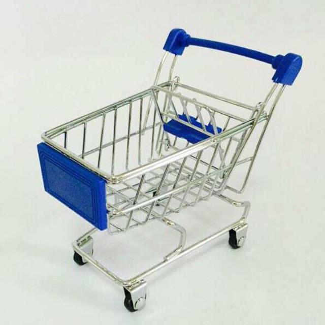 Мини тележка на колесиках из супермаркета!