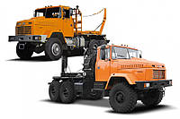 Аренда лесовозного тягача КрАЗ 64372