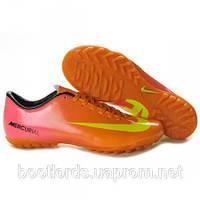 Футбольные кроссовки бутсы Nike Mercurial Vapor 9 TF (реплика)