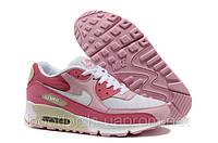 Женские кроссовки Nike Air Max 90 розовые, фото 1