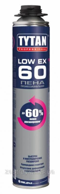 Профессиональная Пена LOW EX 60 TYTAN, 750 мл