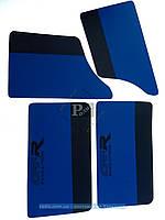 Карты дверей ВАЗ 2101-2107 (сине-черные)