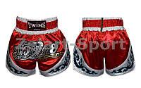 Трусы для тайского бокса TWINS TBS-800-XL (PL, р-р XL рост-180-195см, красный, синий)