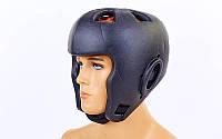 Шлем для бокса литой EVA BO-5649-BK(M) (черный, р-р M)