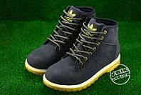 Демисезонная обувь Adidas - без меха (синие)