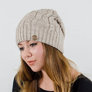 """Вязаная женская шапка """"Sveta"""", фото 2"""